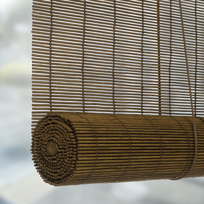 Estor enrollable decorativo bambú 90x175cm
