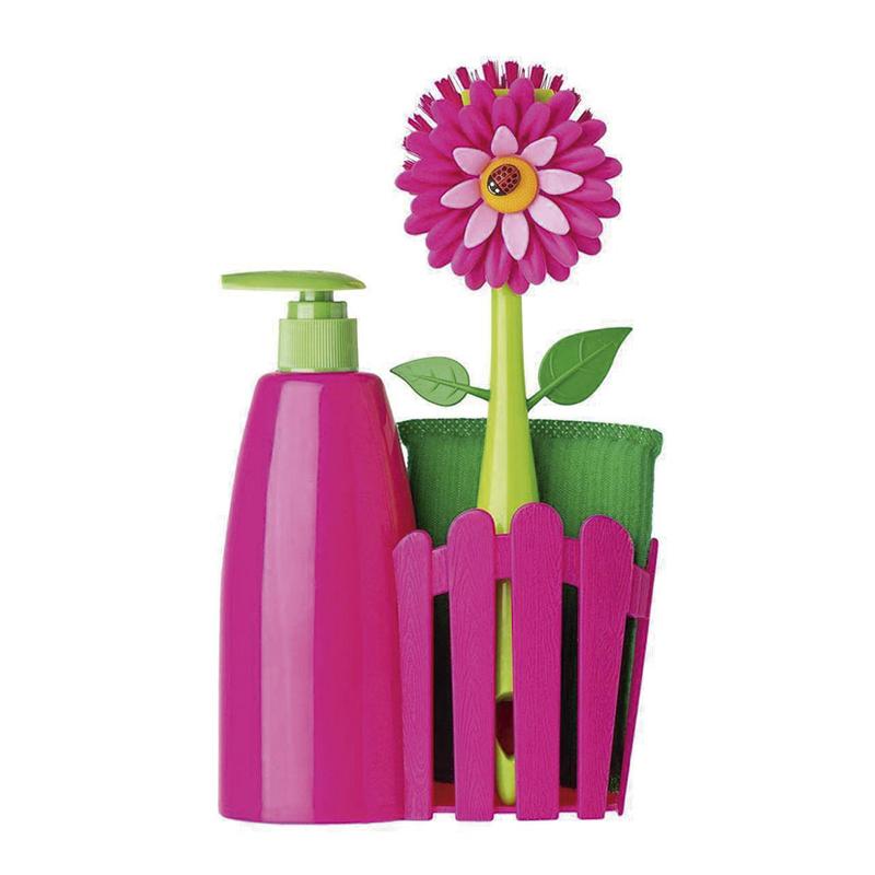 Dispensador de jabón VIGAR flower power