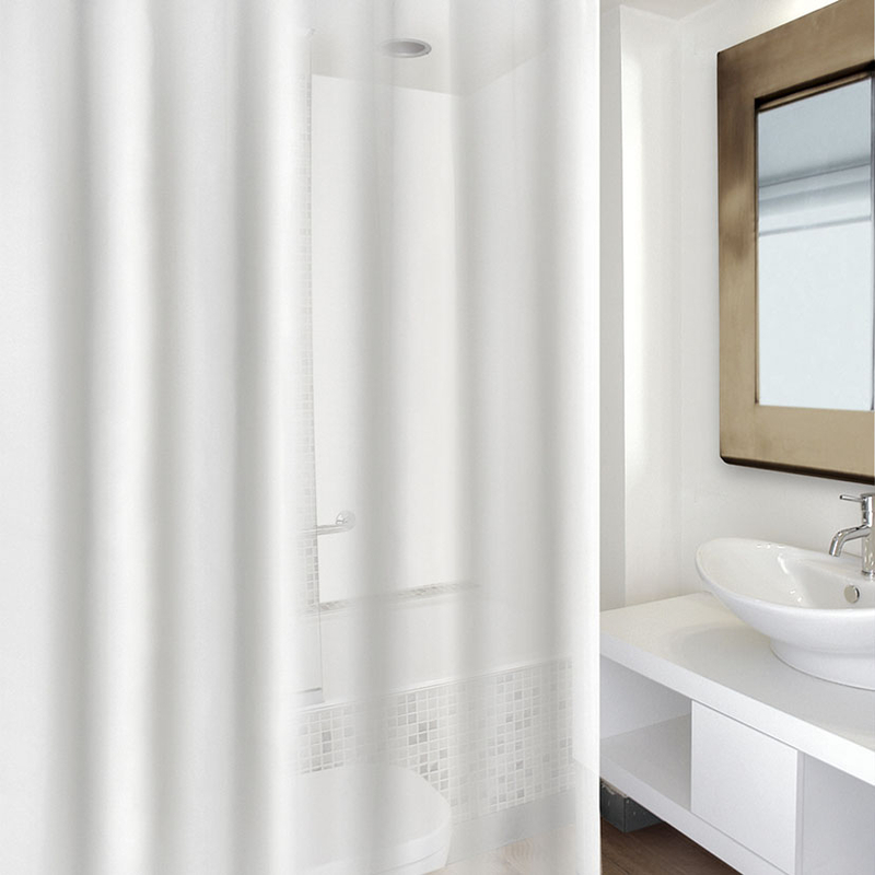 Cortinas De Baño Transparentes | Cortina Bano Habitex Forro Transparente Cadena88