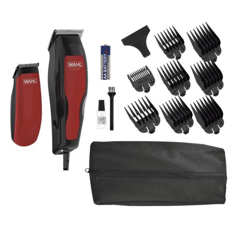 Cortapelos + barbero WAHL Home Pro combo 100