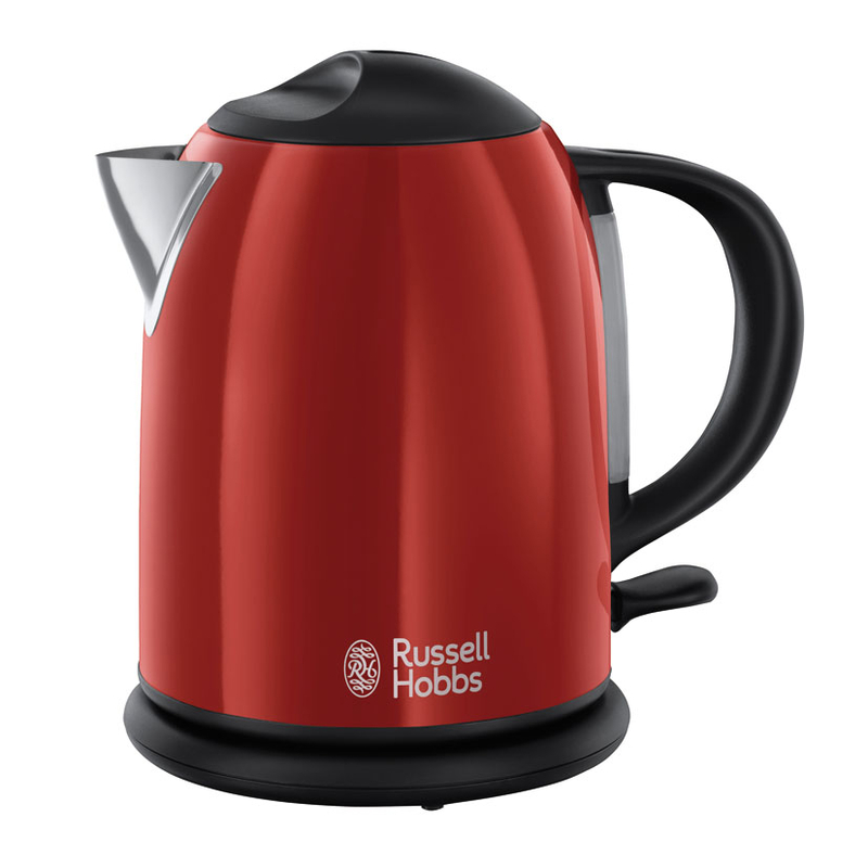 Hervidor compacto RUSELLHOOBS 2200W Flame Red