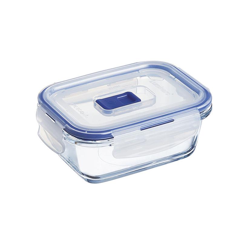 Fiambreras herméticas rectangulares LUMINARC Pure Box Active
