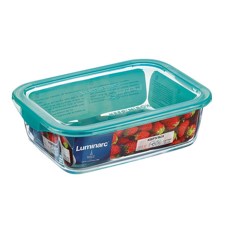 Fiambreras herméticas rectangulares LUMINARC Keep'n Box