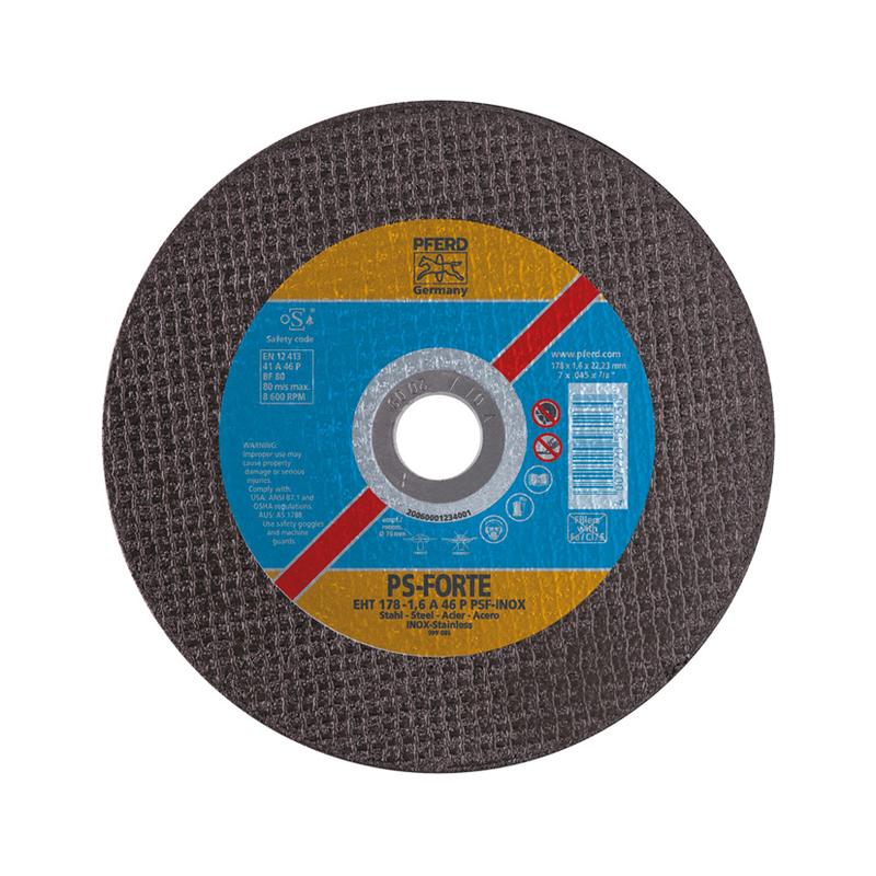 Disco de corte inox/metal PFERD A60 P PSF-INOX