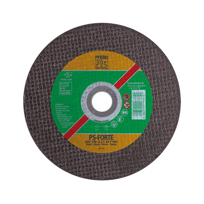 Disco de corte de piedra EH PFERD C24 P PSF