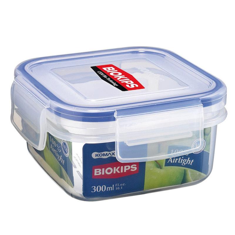 Fiambrera Komax BIOKIPS hermética de plástico