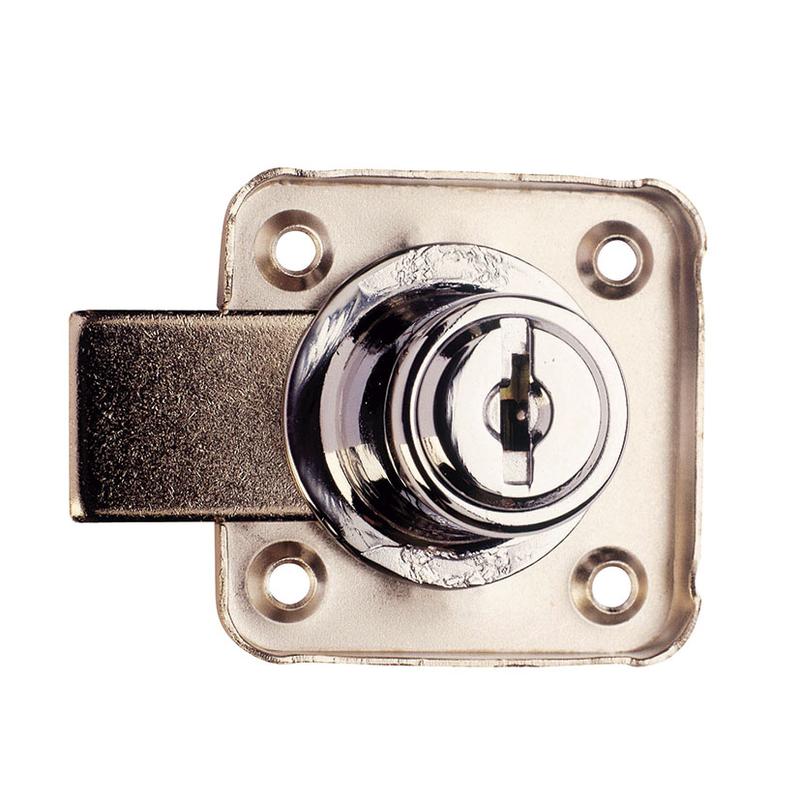 Cerradura de sobreponer AGA para armario mod. 362 20mm