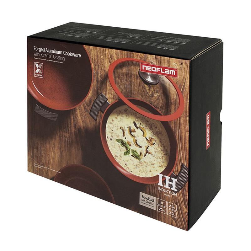 Cacerola alta con tapa NEOFLAM serie Chef
