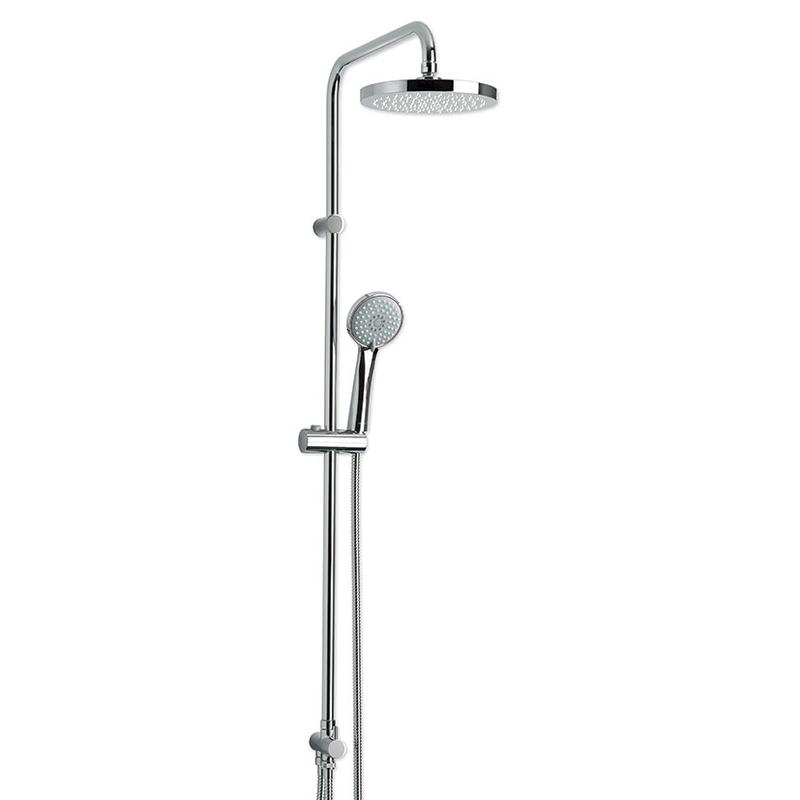 Conjunto ducha PLASTISAN Icon cromo