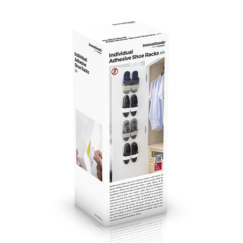 Zapatero INNOVAGOODS adhesivo