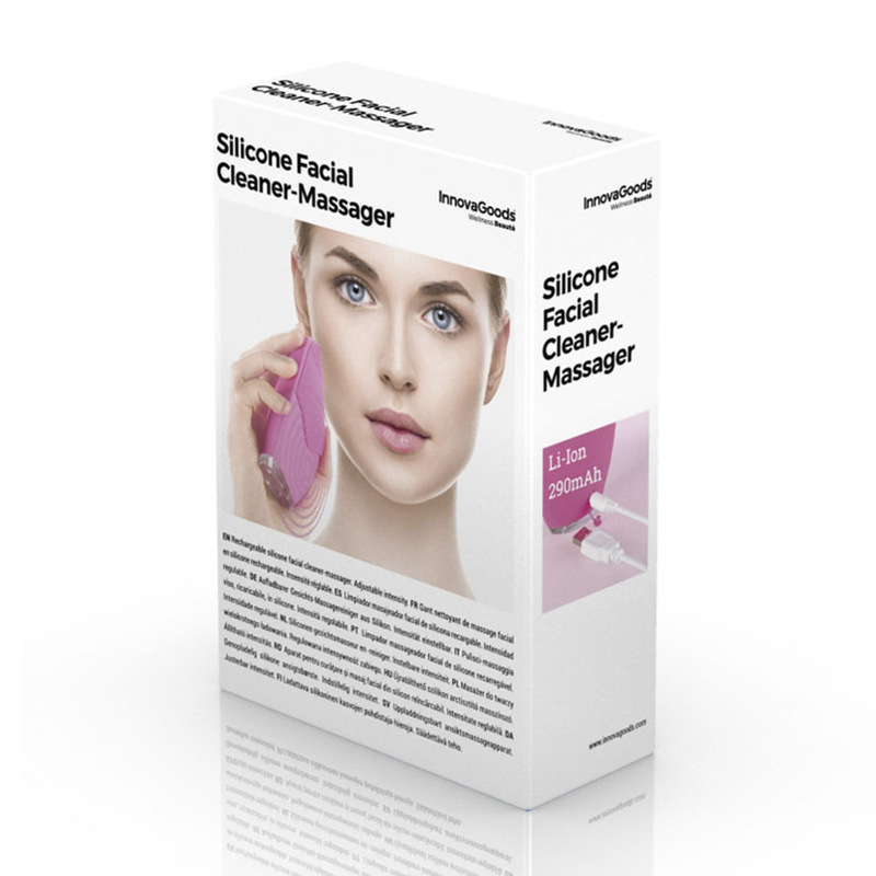 Masajeador limpiador facial INNOVAGOODS Wellness Beauté