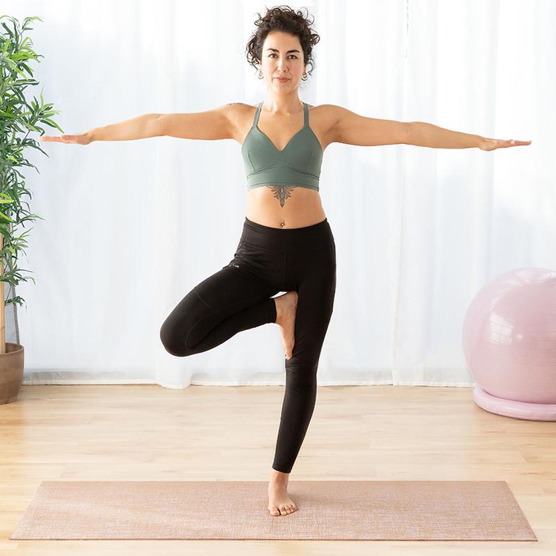 Esterilla yoga de yute INNOVAGOODS Jumat