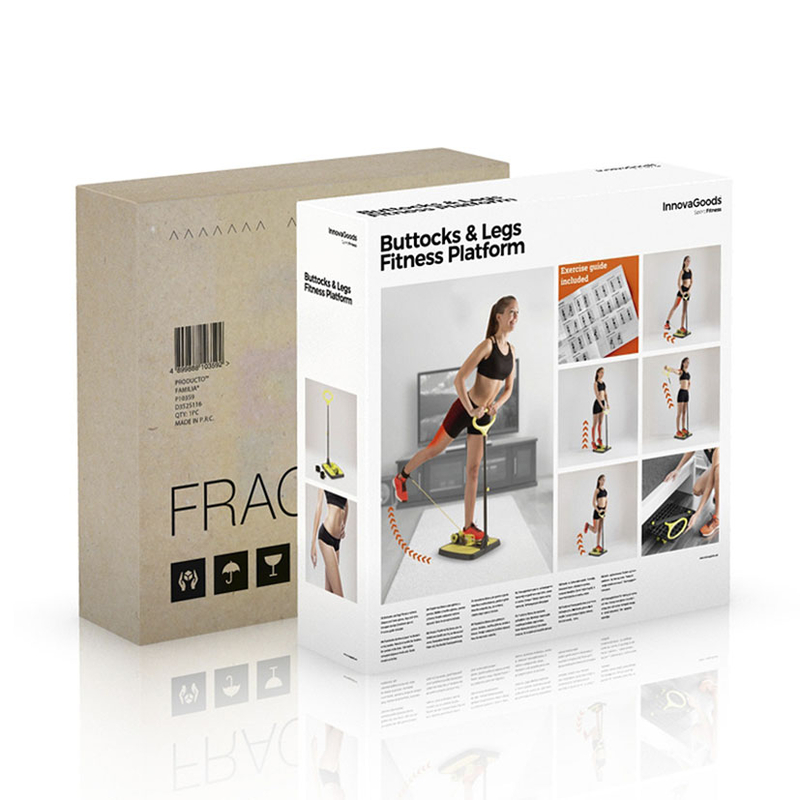 Plataforma fitness INNOVAGOODS Glúteos y piernas.