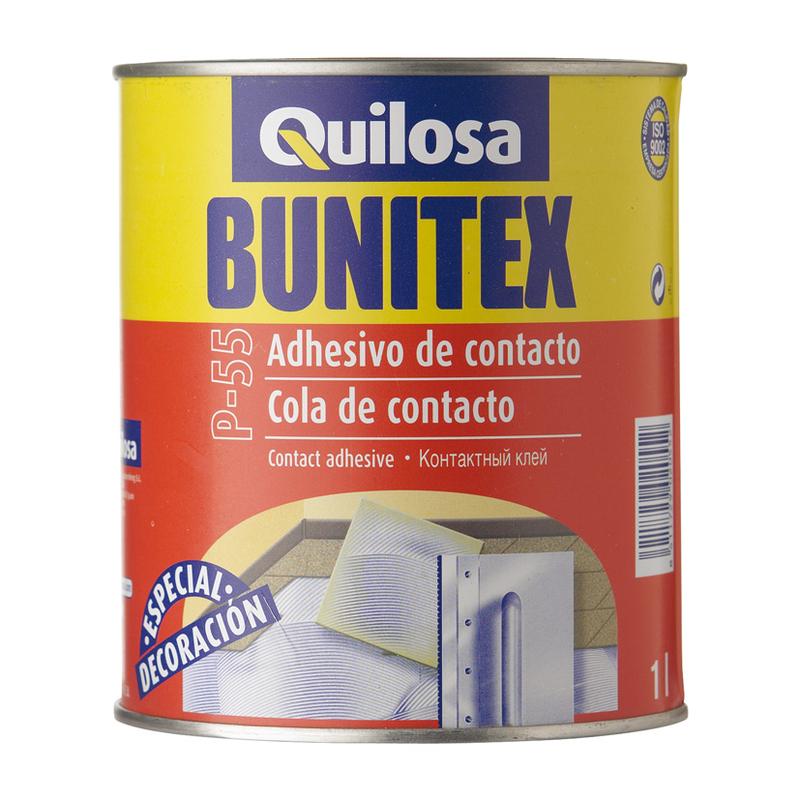 Cola contacto QUILOSA Bunitex P-55, 1l
