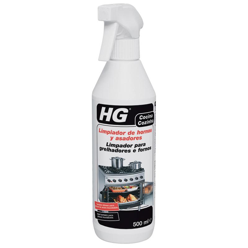 Limpiador de hornos, asadores y grills HG