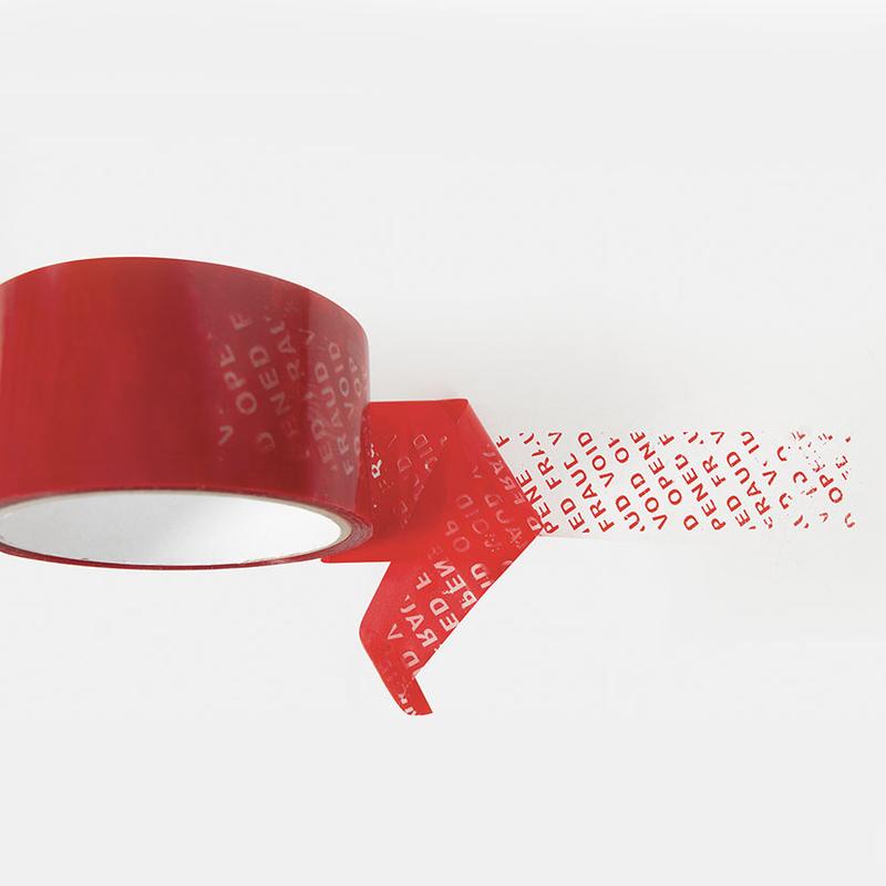 Precinto seguridad rojo 48 mm
