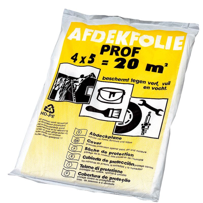 Plástico cubretodo profesional