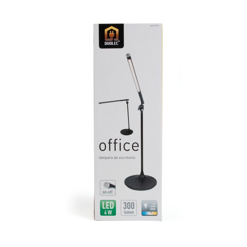Lámpara estudio LED office DUOLEC 4 W 3000K luz cálida