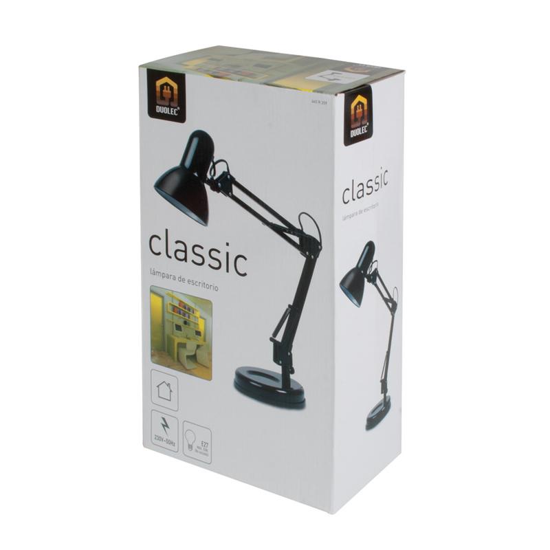 Lámpara estudio DUOLEC classic  25W E27
