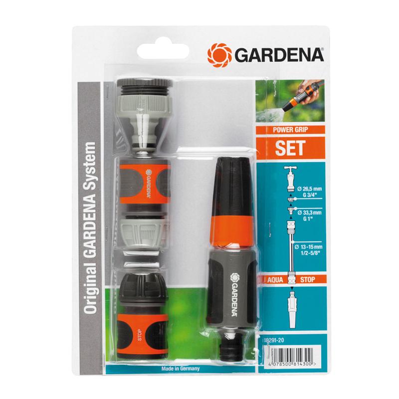 Kit GARDENA de lanza y conectores para riego