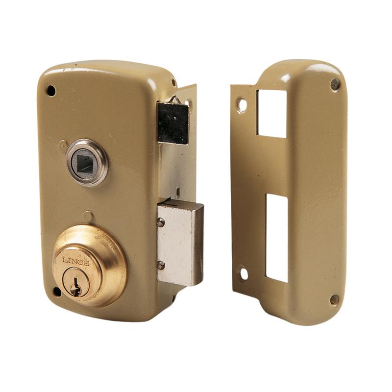 Cerradura sobreponer LINCE modelo 5056B 60 mm
