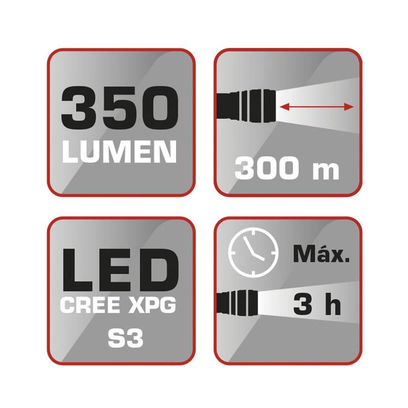 Linterna recargable RATIO LED worklight 5135
