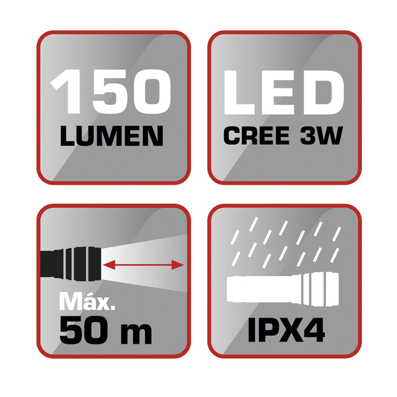 Linterna LED RATIO Worklight AL150P