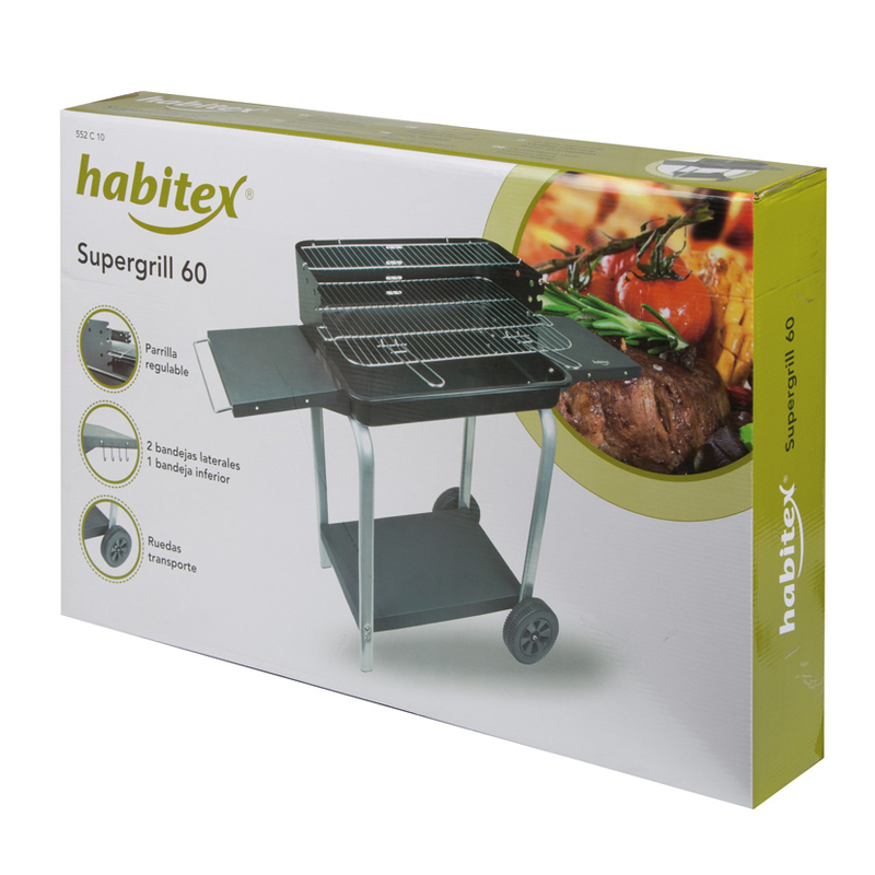 Barbacoa carbón HABITEX Supergrill 60