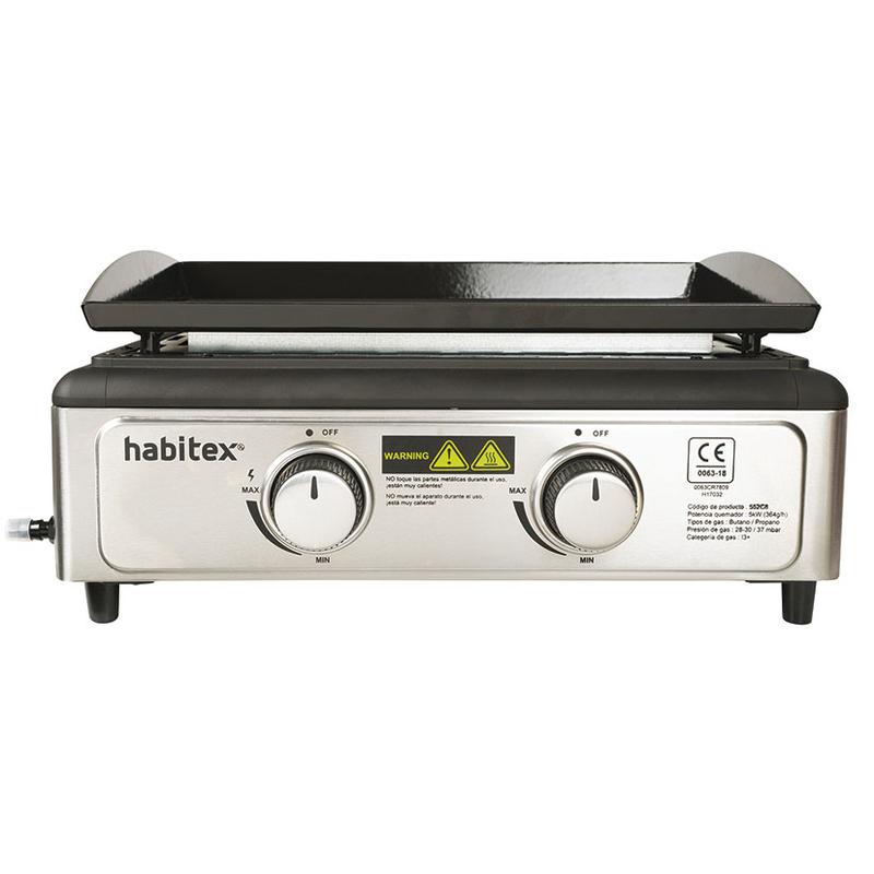 Plancha de gas HABITEX Bontempo 50