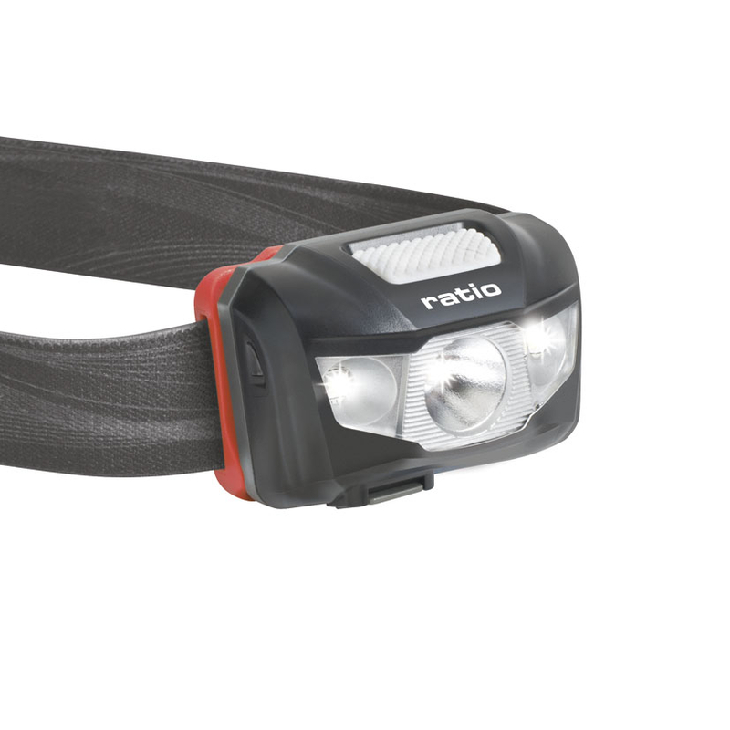 Linterna frontal LED RATIO recargable Headlamp 5536