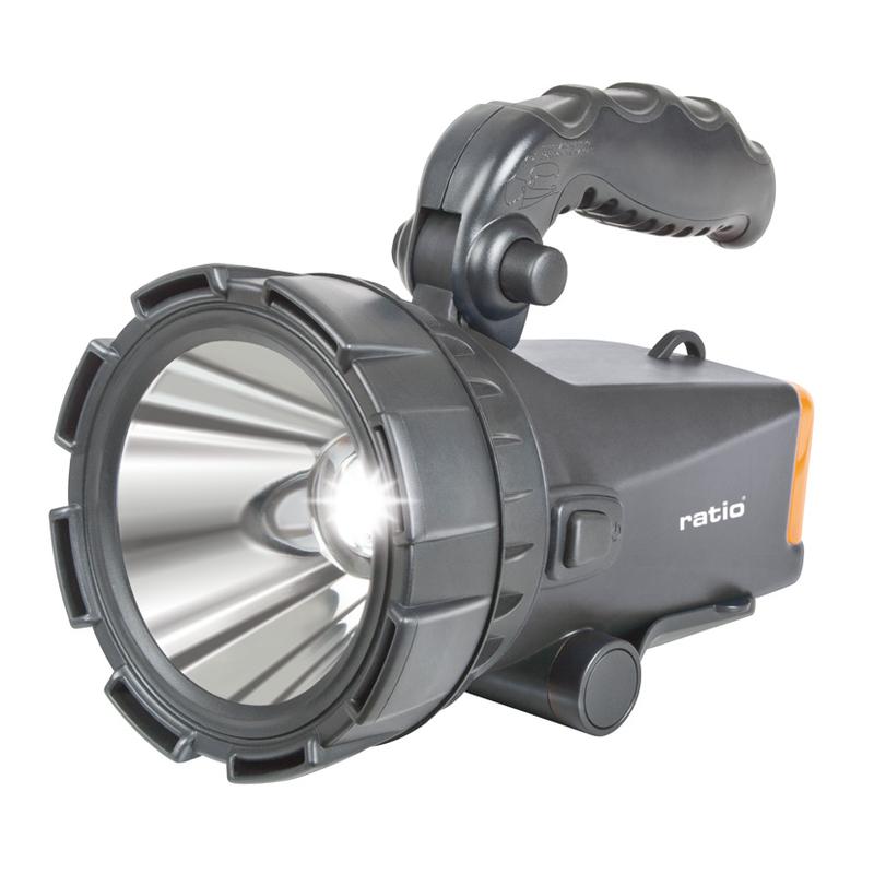 Proyector LED recargable RATIO Spotlight F360B