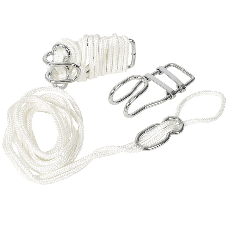 Kit fijación hamaca 2 cuerdas