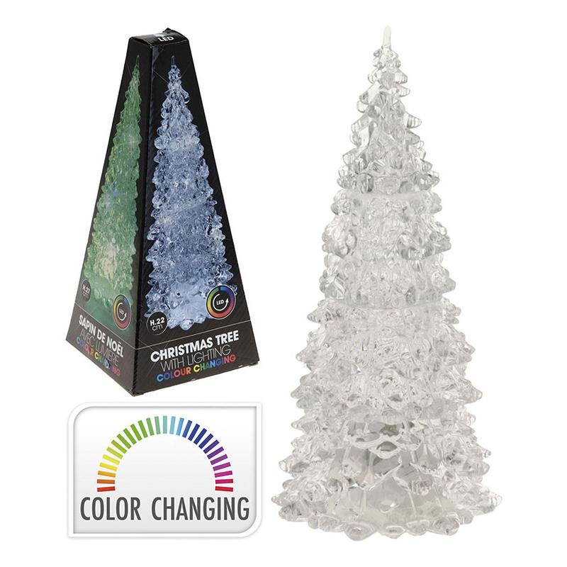 Árbol de Navidad LED plástico   Cadena88