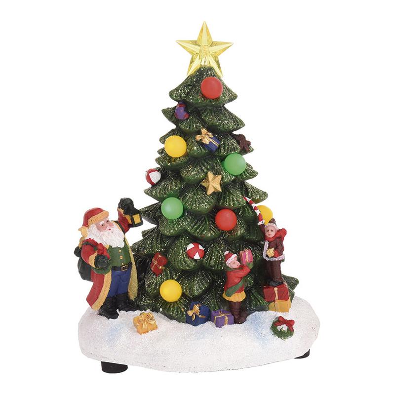 Árbol de navidad con 8 LEDS