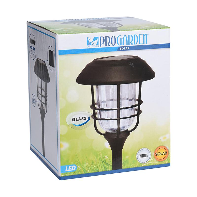 Lámpara solar aluminio