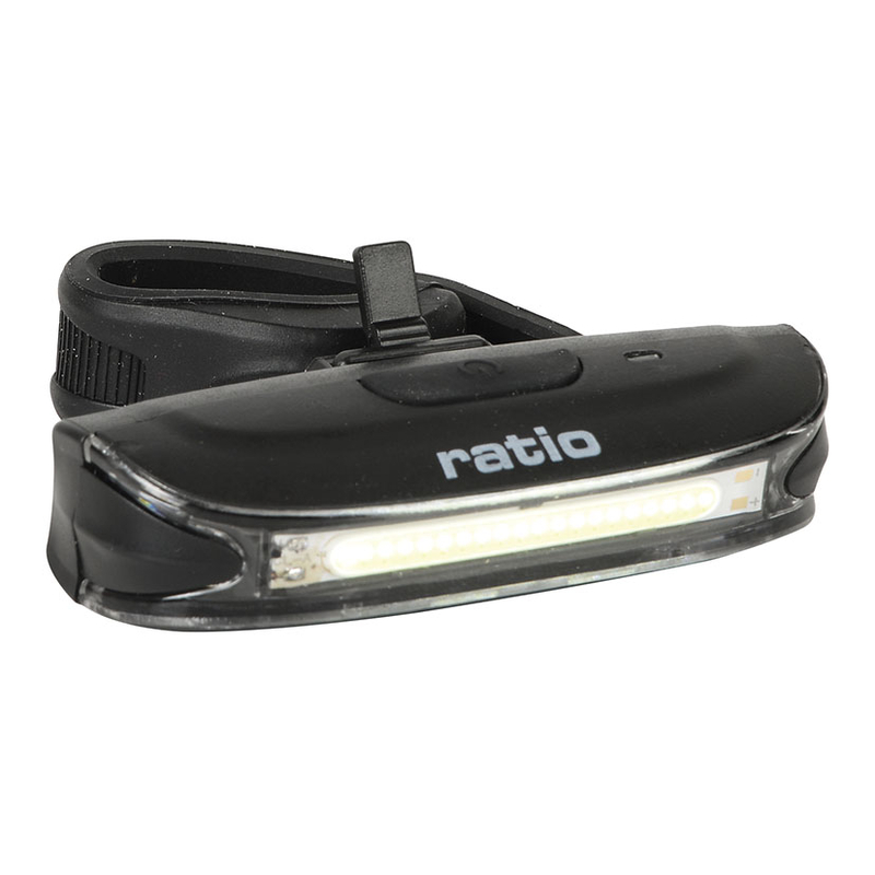 Luz frontal blanca LED recargable RATIO BikeLight5577