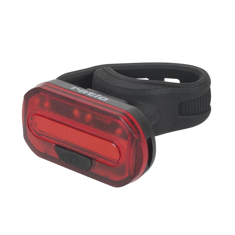 Luz de posición LED RATIO COB BIKELIGHT 5578. Luz roja trasera