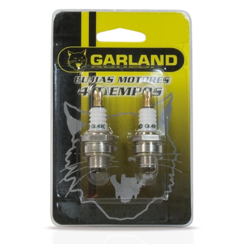 Bujía GARLAND para motores de 4 tiempos