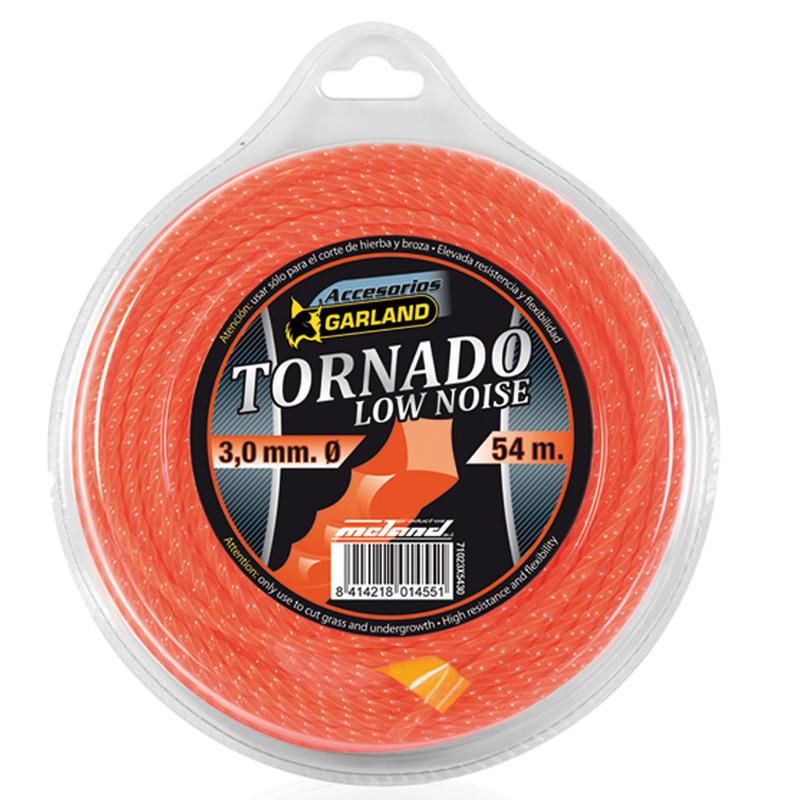 Hilo de nilón GARLAND Tornado en espiral para desbrozadoras