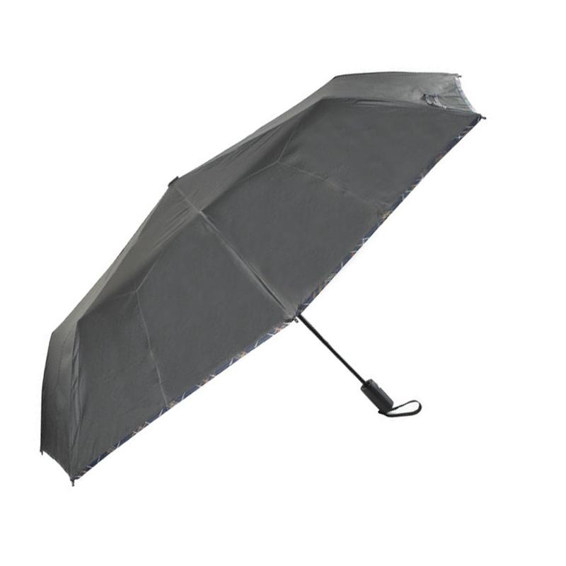 Paraguas plegable automático HABITEX 117 cm negro