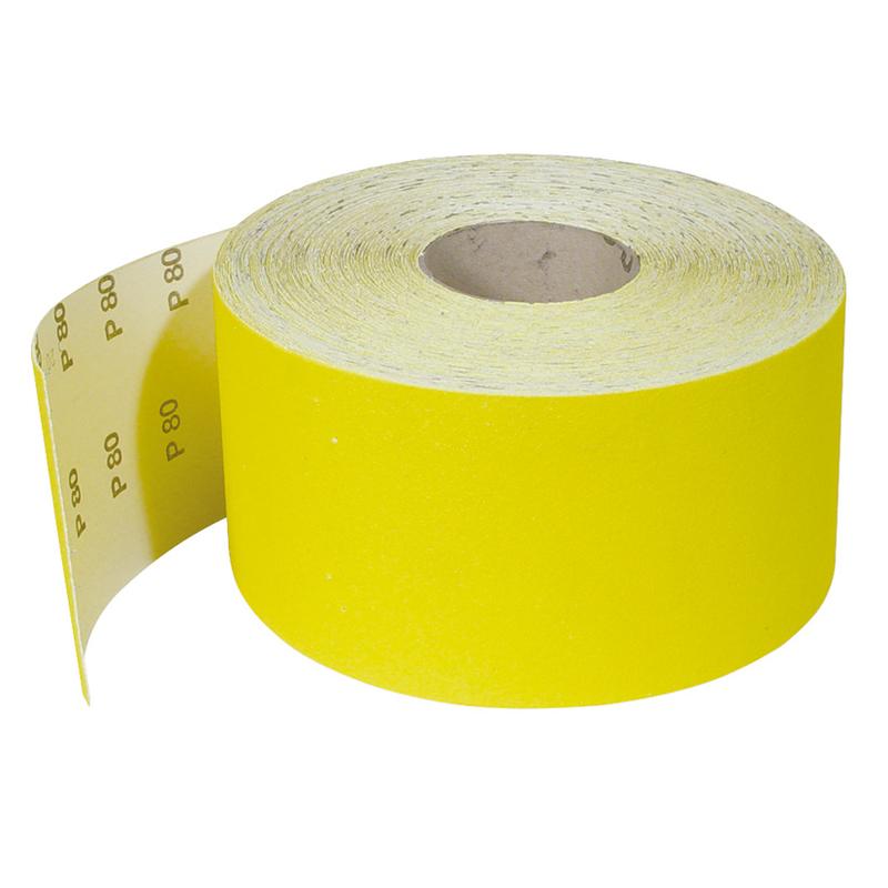 Abrasivo corindón RATIO rollo soporte de papel 50 m