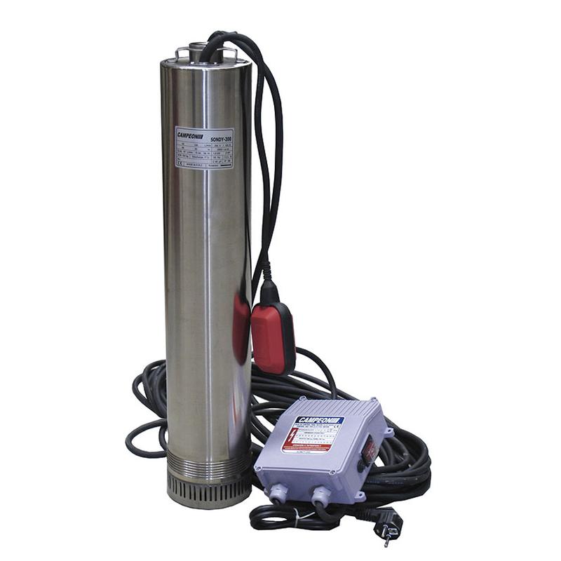 Bomba aguas limpias CAMPEON Sondy-150