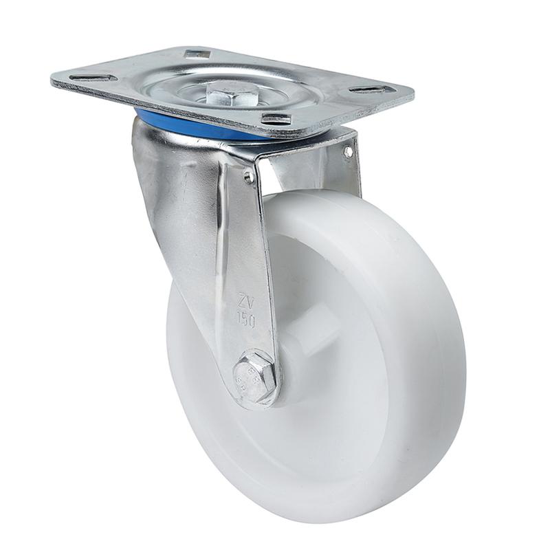 Rueda semi-industrial ALEX serie ZV-UT pletina giratoria sin freno