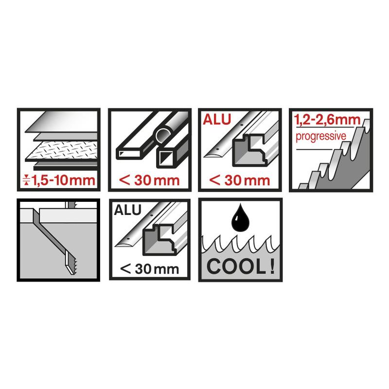 Set 3 sierras de calar metal RATIO Proseries RT123XF