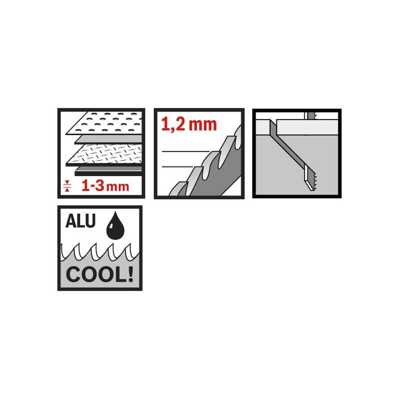 Set 3 sierras de calar metal RATIO Proseries RT121AF