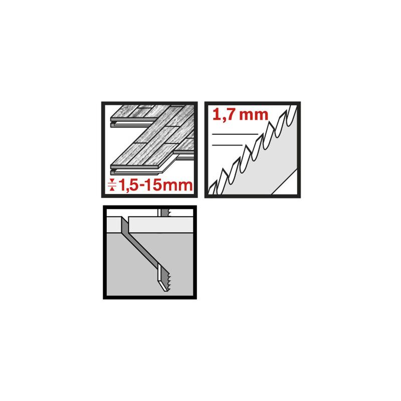 Set 5 sierras calar laminados RATIO Proseries RT101BIF