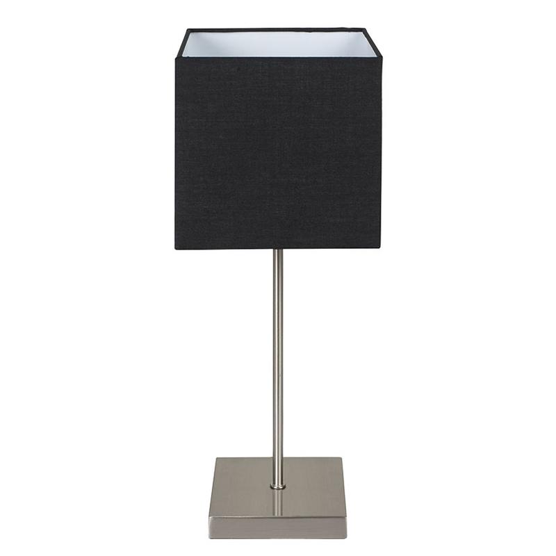 Lámpara sobremesa táctil DUOLEC Split negro