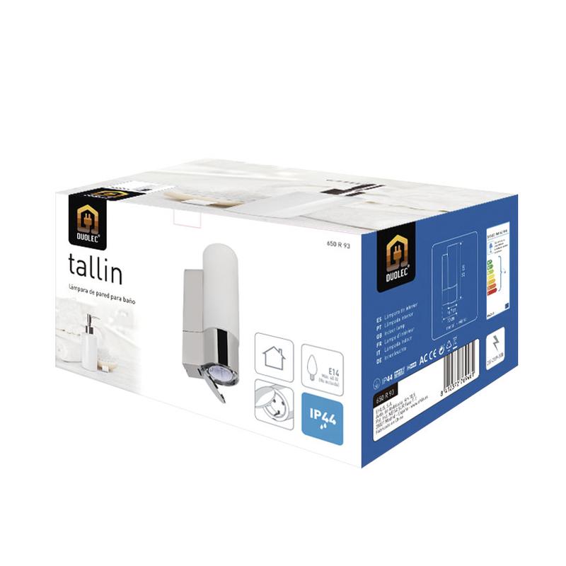 Pack - Aplique de baño DUOLEC Tallin E14