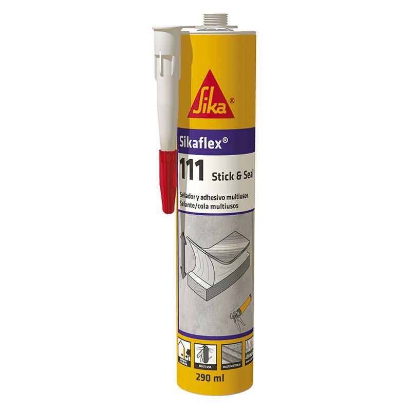 Sellador SIKA Sikaflex-111 Stick & Seal, 290ml