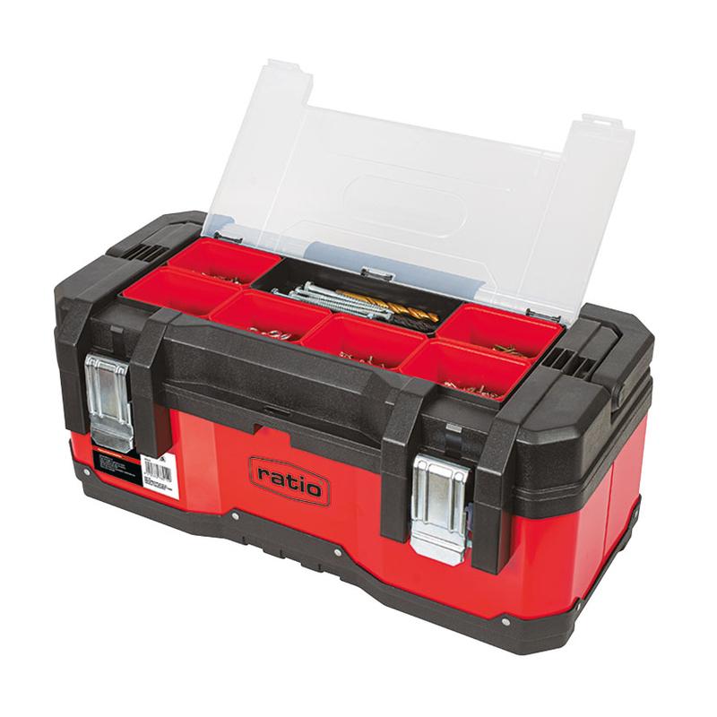Caja de herramientas RATIO 6712-23